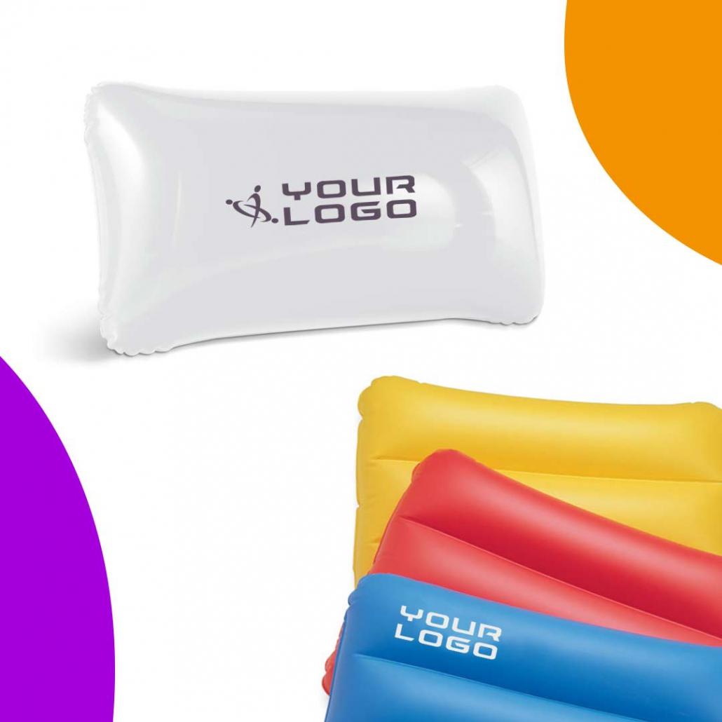 Cuscini gonfiabili personalizzati