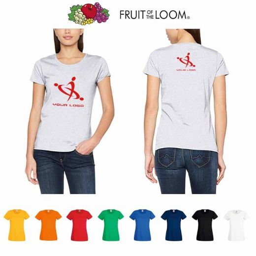 Fruit Of The Loom T-shirt Valueweight Lady Fit